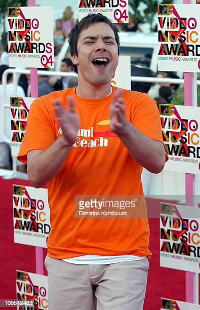 Jimmy Fallon during 2004 MTV Video Music Awards Arrivals at American Airlines Arena in Miami Florida United States