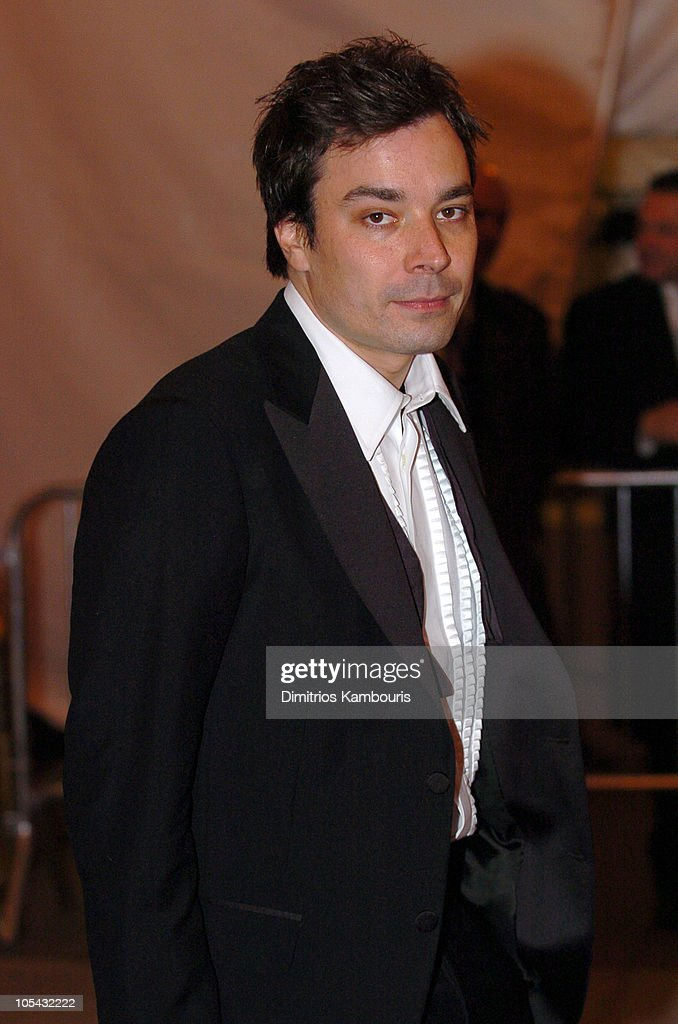 Jimmy Fallon during 'Chanel' Costume Institute Gala at The Metropolitan Museum of Art - Departures at The Metropolitan Museum of Art in New York City, New York, United States.
