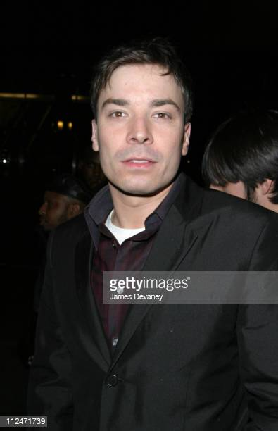 Jimmy Fallon during Janet Jackson Hosts 'Saturday Night Live' After Party April 10 2004 at LQ in New York City New York United States