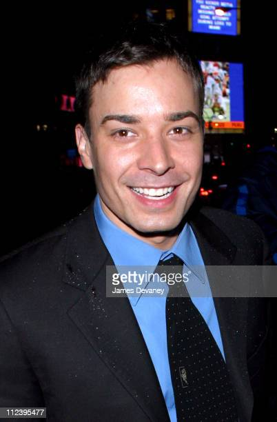 Jimmy Fallon during Sarah Michelle Gellar Hosts SNL AfterParty at Times Square in New York City New York United States