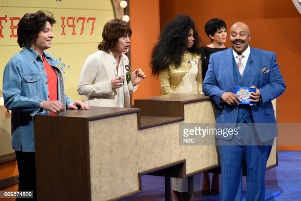 LIVE 'Jimmy Fallon' Episode 1722 Pictured Jimmy Fallon as John Travolta Harry Styles as Mick Jagger Sasheer Zamata as Diana Ross Cecily Strong as...