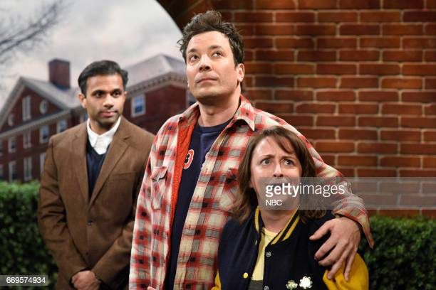 LIVE Jimmy Fallon Episode 1722 Pictured Jimmy Fallon as Sully and Rachel Dratch as Denise during Sully Denise sketch on April 15 2017