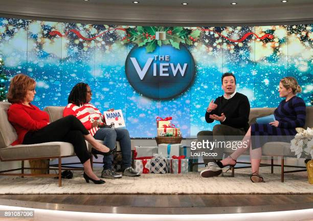 THE VIEW Jimmy Fallon is a guest on 'The View' Tuesday December 12 2017 airing on the ABC Television Network HAINES