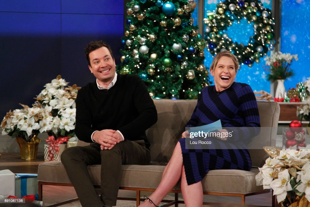 THE VIEW - Jimmy Fallon is a guest on 'The View,' Tuesday, December 12, 2017 airing on the ABC Television Network. HAINES