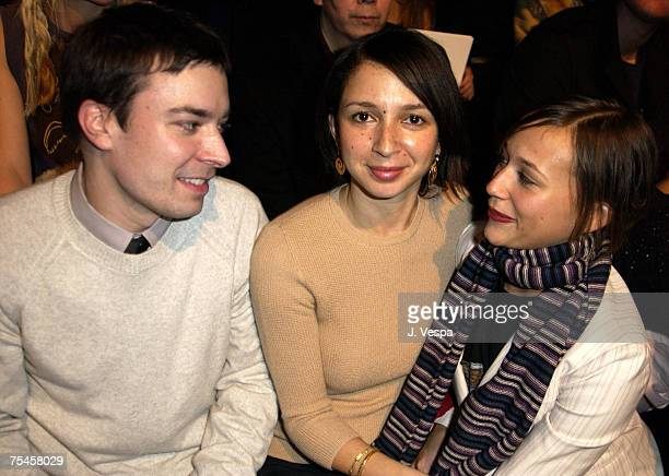 Jimmy Fallon Maya Rudolph and Rashida Jones