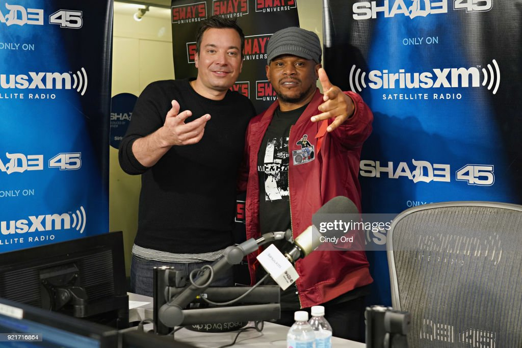 Celebrities Visit SiriusXM - February 20, 2018 : Foto di attualità