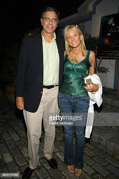 Jimmy Finkelstein and Pamela Gross attend After Party for the Screening of ABSOLUTE WILSON a Documentary Film by Katharina OttoBernstein at...