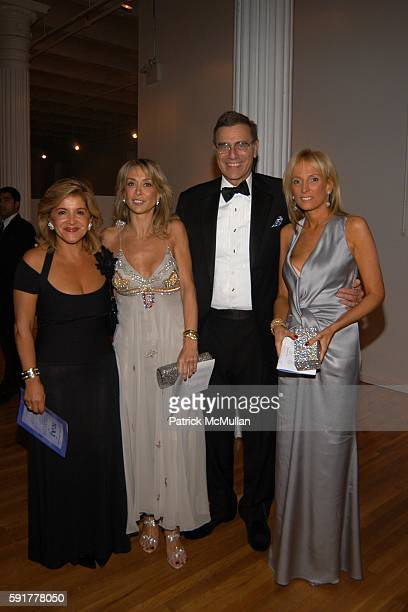 Jimmy Finkelstein and Pamela Gross Finkelstein attend The Henry Street Settlement 2005 Dinner Dance and Auction at The Puck Building on October 25...