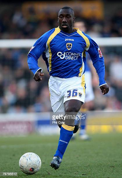 Jimmy Floyd Hasselbaink of Cardiff City in action during the FA Cup Fifth Round match sponsored by E.on between Cardiff City and Wolverhampton...