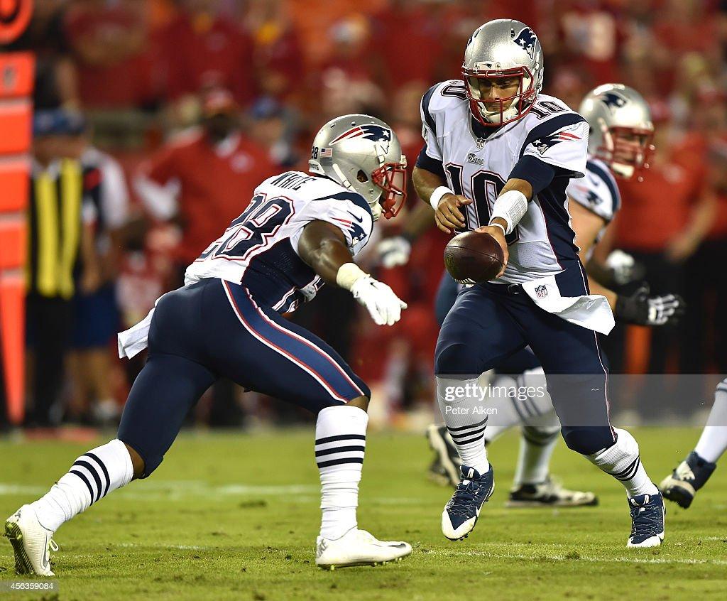 New England Patriots v Kanas City Chiefs : Photo d'actualité