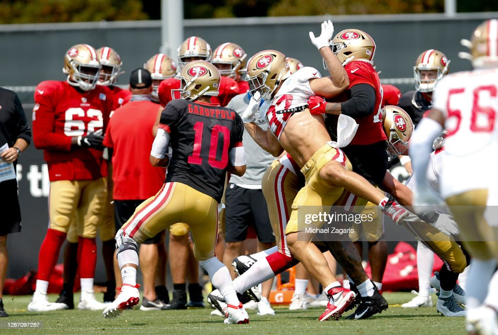 San Francisco 49ers Training Camp : News Photo