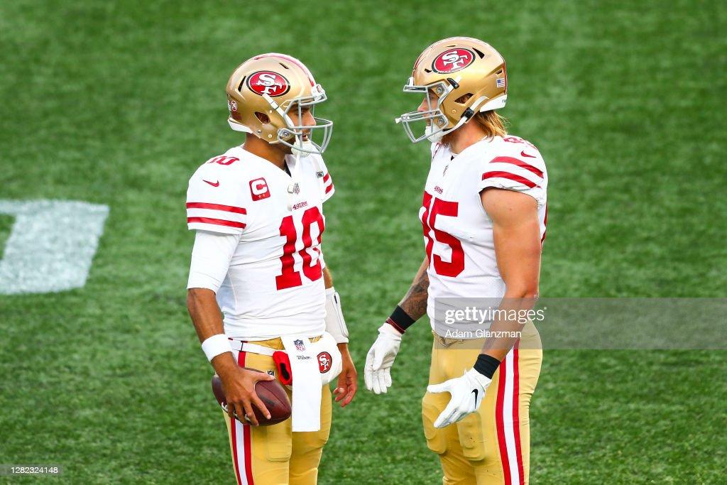San Francisco 49ers v New England Patriots : News Photo