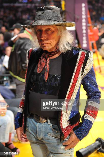 Jimmy Goldstein attends a basketball game between the Los Angeles Lakers and the Atlanta Hawks at Staples Center on November 11 2018 in Los Angeles...