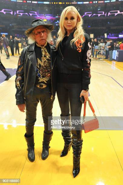 Jimmy Goldstein attends a basketball game between the Los Angeles Lakers and the Sacramento Kings at Staples Center on January 9 2018 in Los Angeles...