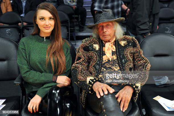 Jimmy Goldstein attends a basketball game between the Los Angeles Lakers and the San Antonio Spurs at Staples Center on January 11 2018 in Los...
