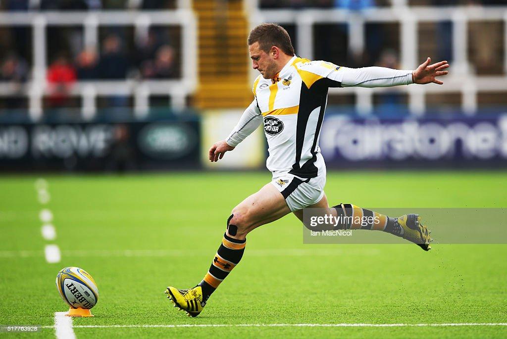Newcastle Falcons v Wasps - Aviva Premiership : News Photo