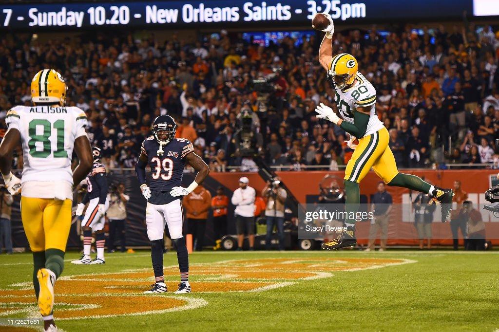 Green Bay Packers vChicago Bears : Foto jornalística