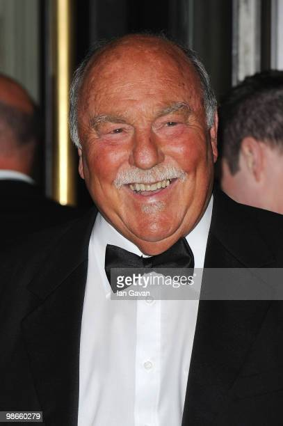 Jimmy Greaves attends the Professional Footballers' Association Awards at the Grosvenor House Hotel on April 25 2010 in London England