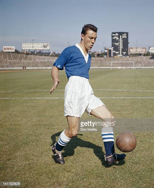 Jimmy Greaves of Chelsea FC 1st August 1957 at the Stamford Bridge Stadium in London Great Britain