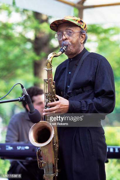 Jimmy Heath performing at the Harlem Meer in Central Park in New York City on May 272001