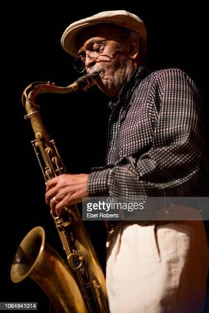 Jimmy Heath performs at the Riverside Theatre in Riverside Church in New York City on August 28 2013