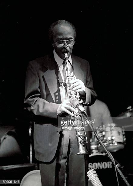 Jimmy Heath Ronnie Scott's London Nicknamed 'Little Bird' Heath is an American jazz saxophonist composer and arranger Image by Brian O'Connor