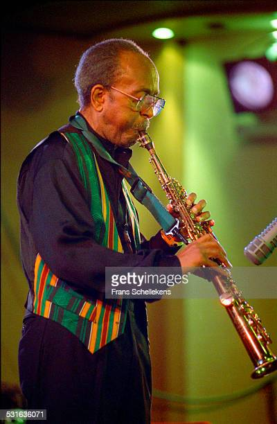 Jimmy Heath saxophone performs with the Heath Brothers at the North Sea Jazz Festival in Congresgebouw on July 14th 2002 in the Hague Netherlands