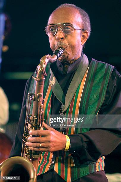 Jimmy Heath, tenor saxophone, performs with the Heath Brothers at the North Sea Jazz Festival on July 14th 2002 in Amsterdam, Netherlands.