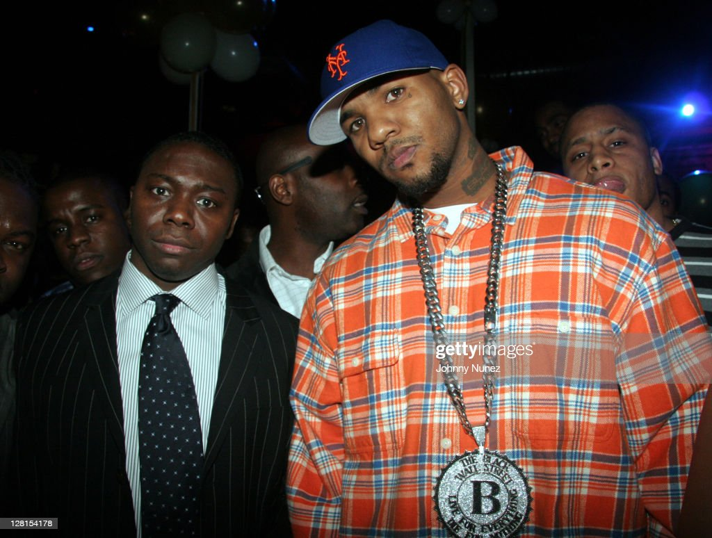 Jimmy Henchman, Ed Lover and Shakim Compere Birthday Party - February 1, 2006 : News Photo