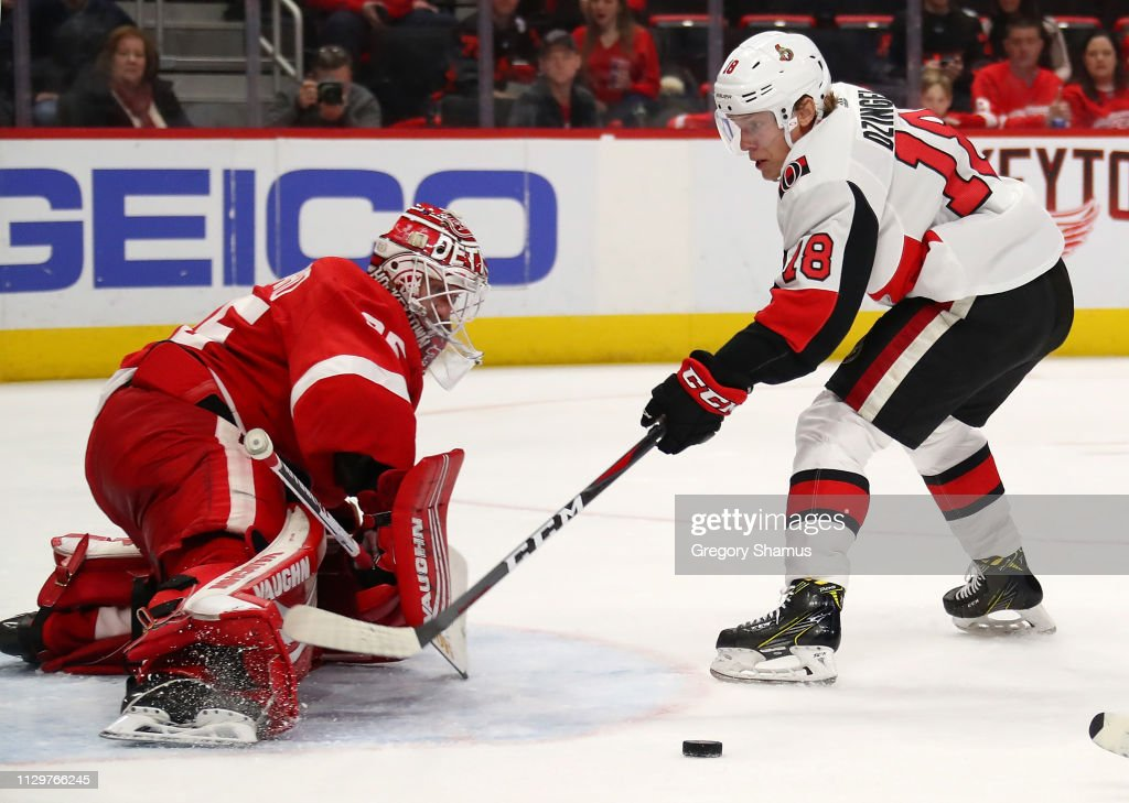 Ottawa Senators v Detroit Red Wings : News Photo