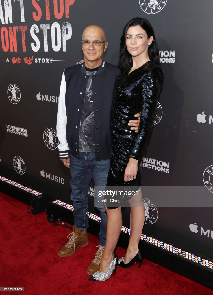 Jimmy Iovine and Liberty Ross attend the Los Angeles Premiere Of 'Can't Stop Won't Stop' at Writers Guild of America, West on June 21, 2017 in Los Angeles, California.