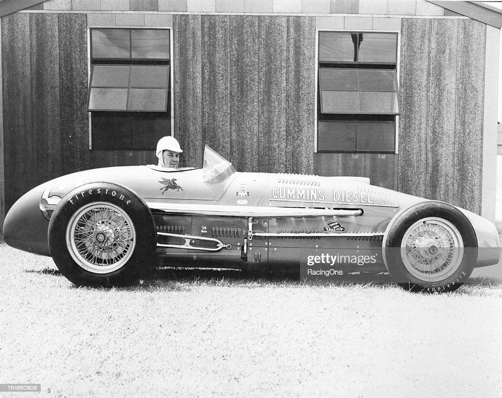 Jimmy Jackson Cummins Diesel - 1950 Indy 500 : Fotografía de noticias