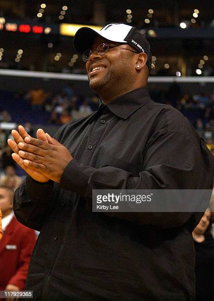Jimmy Jam aka Jimmy Jamm at Los Angeles Lakers game against the Minnesota Timberwolves at the Staples Center in Los Angeles, Calif. On Thursday,...