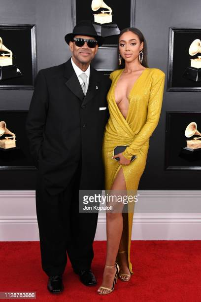 Jimmy Jam and Bella Harris attend the 61st Annual GRAMMY Awards at Staples Center on February 10 2019 in Los Angeles California