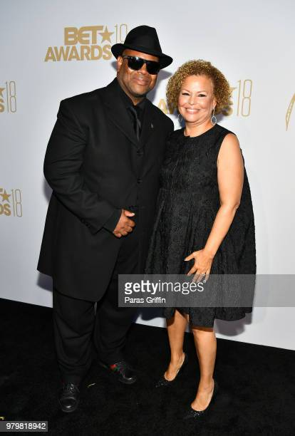 Jimmy Jam and Debra Lee attend the Debra Lee PreBET Awards Dinner at Vibiana on June 20 2018 in Los Angeles California