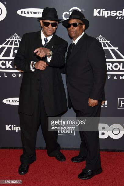 Jimmy Jam and Terry Lewis attend the 2019 Rock & Roll Hall Of Fame Induction Ceremony at Barclays Center on March 29, 2019 in New York City.