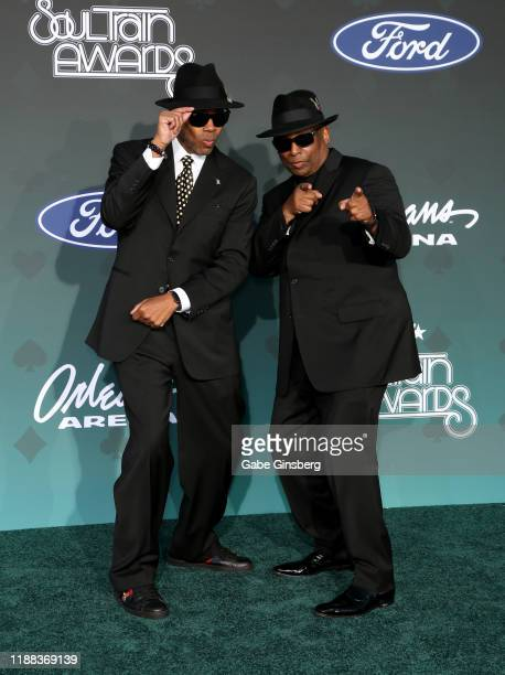 Jimmy Jam and Terry Lewis attend the 2019 Soul Train Awards at the Orleans Arena on November 17, 2019 in Las Vegas, Nevada.
