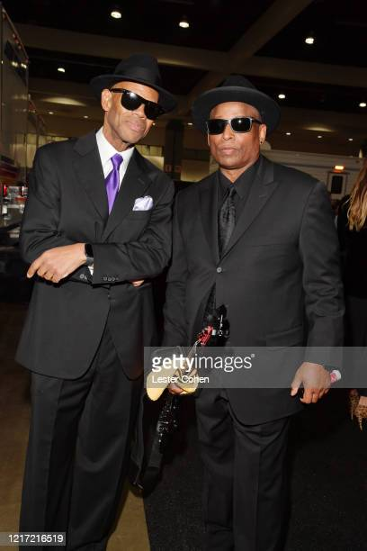 Jimmy Jam and Terry Lewis attend the 62nd Annual GRAMMY Awards Let's Go Crazy The GRAMMY Salute To Prince on January 28 2020 in Los Angeles California