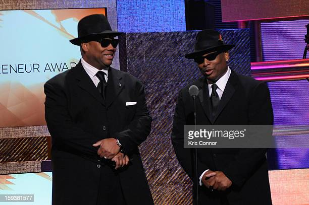 Jimmy Jam and Terry Lewis onstage at BET Honors 2013 at Warner Theatre on January 12 2013 in Washington DC
