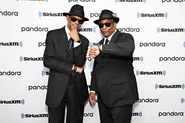 NY: Jimmy Jam And Terry Lewis At A SiriusXM Town Hall In New York City To Talk About Their New Album