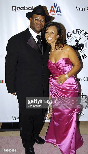 Jimmy Jam and wife Lisa Padilla during 16th Carousel of Hope Presented by MercedesBenz to Benefit the Barbara Davis Center for Childhood Diabetes...