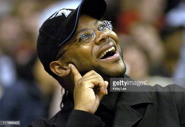 Jimmy Jam at Los Angeles Lakers game against the Minnesota Timberwolves at the Staples Center on Friday, March 26, 2004.