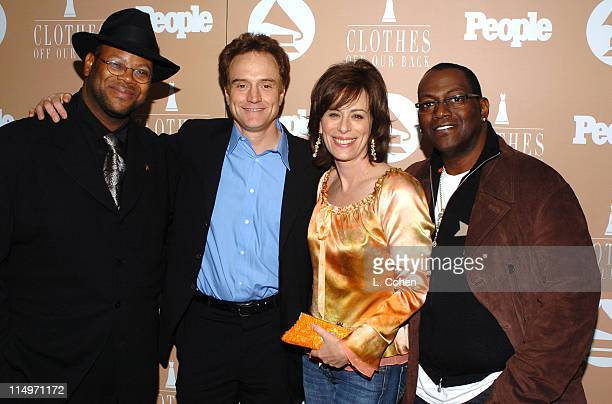Jimmy Jam, Bradley Whitford, Jane Kaczmarek and Randy Jackson