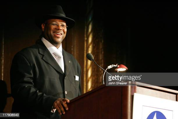 Jimmy Jam during 8th Annual Music on Film Preservation Project New Orleans Rising at Wilshire Ebell Theater in Los Angeles California United States