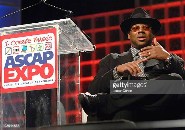 Jimmy Jam during ASCAP I Create Music EXPO Day 1 at Renaissance Hotel in Hollywood California United States