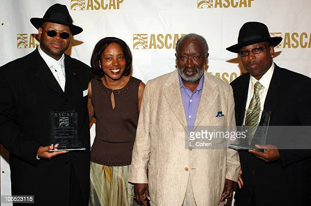 Jimmy Jam Jeanie Weems Clarence Avant and Terry Lewis