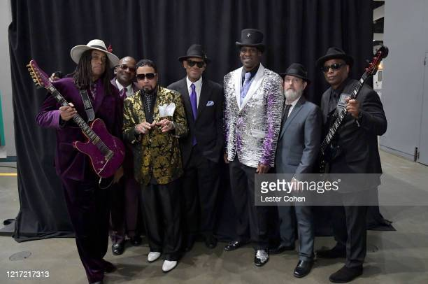 Jimmy Jam Jellybean Johnson and the Time Jesse Johnson Morris Day Jerome Benton and Terry Lewis attend the 62nd Annual GRAMMY Awards Let's Go Crazy...
