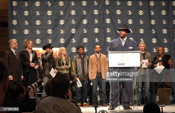 Jimmy Jam Neil Portnow President ofThe Recording Academy Big Kenny and John Rich Natasha Bedingfeild Sway John Legend CeCe Winans Mariah Carey Chad...