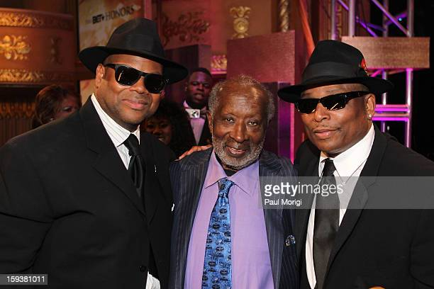 Jimmy Jam Terry Lewis and Clarence Avant attend BET Honors 2013 at Warner Theatre on January 12 2013 in Washington DC