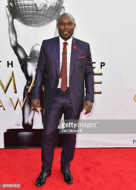Jimmy JeanLouis at the 49th NAACP Image Awards on January 15 2018 in Pasadena California